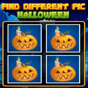 Find Different Pic Halloween