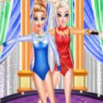 Frozen Sister Gymnastics Fashion Show